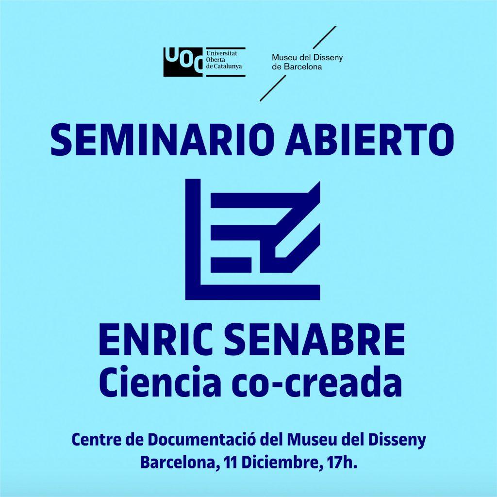 Seminari Obert Enric Senabre